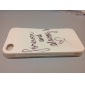 Forever and Always Design Soft Case for iPhone 4/4S