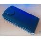 solide couleur pu Housse en cuir pour iPhone 4 / 4S