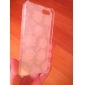 Para Capinha iPhone 5 Estampada Capinha Capa Traseira Capinha Flor Rígida PC iPhone SE/5s/5