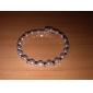 Women's Rhinestone White Pearl Bracelets