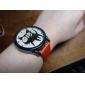 Жен. Модные часы Кварцевый PU Группа Мультяшная тематика Черный Белый Красный