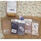 wkae® 아이폰 4 / 4S 용 형광 플라스틱 하드 케이스 클래식 실크 인쇄 디자인