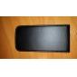 Angibabe unité centrale de caisse de cuir de chiquenaude pour Samsung Galaxy S4/i9500