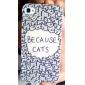 parce que les chats mignons drôles dur étui de protection pour iPhone 4 / 4S