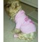 Chat Chien Pulls à capuche Vêtements pour Chien Respirable Mignon Mode Tiares & Couronnes Rose Costume Pour les animaux domestiques