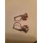 Fashion Rhinestone Hoop Earrings