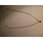 colar vintage forma estrela dourada minúscula pingente (1 pc)