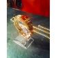 relógio de estilo clássico a4 tapa-up mostrando estar transparentes exibe jóias acrílico (1 pc)