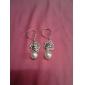 Хан Чан Нара роз полые алмаз кисточкой жемчужные серьги E181