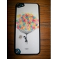 Shimmering Colorful Balloons and A Boy Pattern Hard Case for iPod touch 5