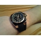 V6 Муж. Армейские часы Наручные часы Кварцевый Японский кварц Pезина Группа Черный