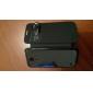 vigília vista inteligente estojo de couro pu para samsung s4 mini-9190 (cores sortidas)