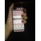 아이폰 5C에 대한 분홍색 줄무늬 단단한 뒤 케이스