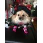 고양이 강아지 신발 & 부츠 안티 - 슬립 솔 젤리 신발 방수 솔리드 블랙 퍼플 옐로우 블루 핑크 애완 동물