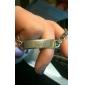Jóias em aço inoxidável gravado pulseiras de identificação largura 0,7 centímetros de presente personalizado