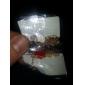 (1 PC) Golden alliage de chaîne et de lien Bracelet (Rouge, Noir, Blanc) doux 4.5cm des femmes