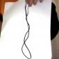직조 합금 목걸이 (모듬 된 색상)