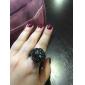 Unisex Alloy Analógico Quartz Watch Ring (cores sortidas)
