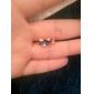 여성 문자 반지 개인 의상 보석 패션 고급 보석 모조 다이아몬드 합금 Animal Shape 고양이 보석류 제품 파티 일상 캐쥬얼
