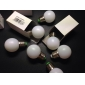 1W 60-100 lm E26/E27 Ampoules Globe LED G45 12 diodes électroluminescentes SMD 3528 Blanc Chaud AC 220-240V