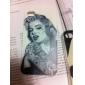 Tatuagem Marilyn Monroe Padrão Hard Case para iPhone4/4S
