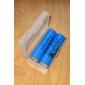 boîtier en plastique pour batterie 18650