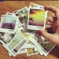 Colorful Landscape Mini Postcards(40 PCS)