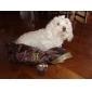 Собака Плащи Толстовки Комбинезоны Одежда для собак Сохраняет тепло Мода Полиция/армия Коричневый Красный Синий Костюм Для домашних