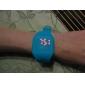 Жен. Модные часы Наручные часы Кварцевый LED силиконовый Группа На каждый день Cool Синий Красный Желтый