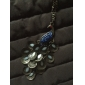 Peacock Pendant Necklace Rhinestone Alloy Pendant Necklace , Daily