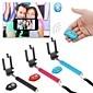 selfie prorrogável monopé handheld câmera com suporte para celular e obturador remoto Bluetooth para iphone