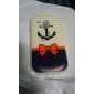Bow Anchor Pattern Soft Case for Samsung Galaxy S3 Mini I8190