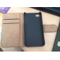 Wallet Card Holder PU Leather Case for iPhone 4/4S (Assorted Colors)