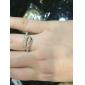 lureme®punk anel de forma de cobra exagerada estilo feminino clássico