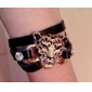 Women's Tiger Head Leather Bracelet