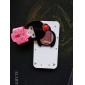 nouveauté mignonne jeune fille japonaise cas de protection pour iPhone 4 et 4s (couleurs assorties)