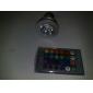 150 lm E26/E27 Lâmpadas de Foco de LED MR16 1 leds LED de Alta Potência Controle Remoto RGB AC 100-240V AC 85-265V