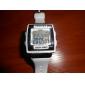 Masculino Relógio Esportivo Relogio digital Digital LCD Calendário Cronógrafo alarme Banda Preta Branco Rosa Branco Preto Rosa claro