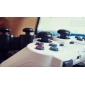 10pcs를위한 Anti-Slip 실리콘 아날로그 모자 PS4/PS3/XBOX ONE/XBOX360 컨트롤러 용 커버