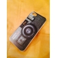 caso difícil padrão câmera preto para iPhone 5 / 5s