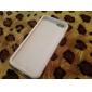 Para Capinha iPhone 6 / Capinha iPhone 6 Plus Flip / Transparente Capinha Corpo Inteiro Capinha Cor Única Macia SiliconeiPhone 6s Plus/6