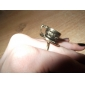 Three-Dimensional Coffee Cup Spoon Ring Opening Can Be Adjusted