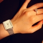 Mulheres Relógio Elegante Relógio de Moda Relógio de Pulso Quartzo Lega Banda Prata Branco Preto