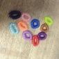 (10шт) Мода многоцветный Пластиковые стяжки для волос для детей (оранжевый, зеленый и более)