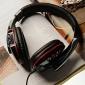 senic g-927 3.5mm salut-fi jeu stéréo casque avec microphone pour pc portable