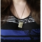 Unisex Retro Death Note Book Shaped Pendant Quartz Pocket Watch with Chain (Bronze) Cool Watches Unique Watches