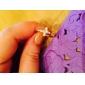 Кольца Для вечеринок / Повседневные Бижутерия Сплав Женский Классические кольцаРегулируется Золотой