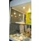 천장 조명 판넬 조명 매립형 레트로핏 3 LED가 SMD 2835 밝기조절가능 따뜻한 화이트 500-550lm 3000-3500K AC 220-240V