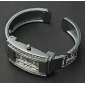 Women's Diamante Rectangle Dial Alloy Band Bracelet Watch (Assorted Colors) Cool Watches Unique Watches Fashion Watch Strap Watch