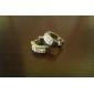 Women's Hoop Earrings Basic Birthstones Elegant Bridal Costume Jewelry Stainless Steel Rhinestone Circle Jewelry For Wedding Party Daily
